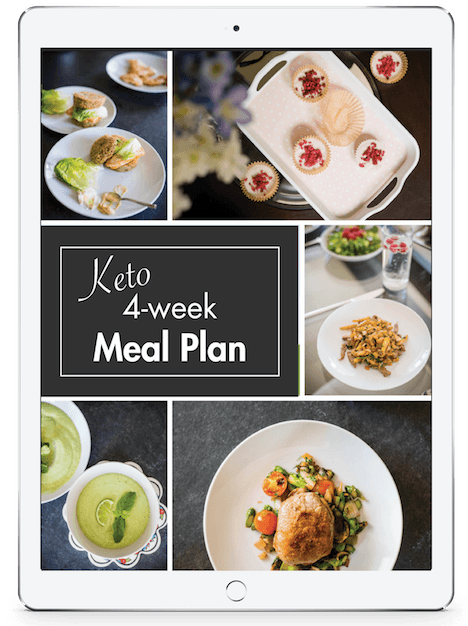 4-week ketogenic diet meal plan