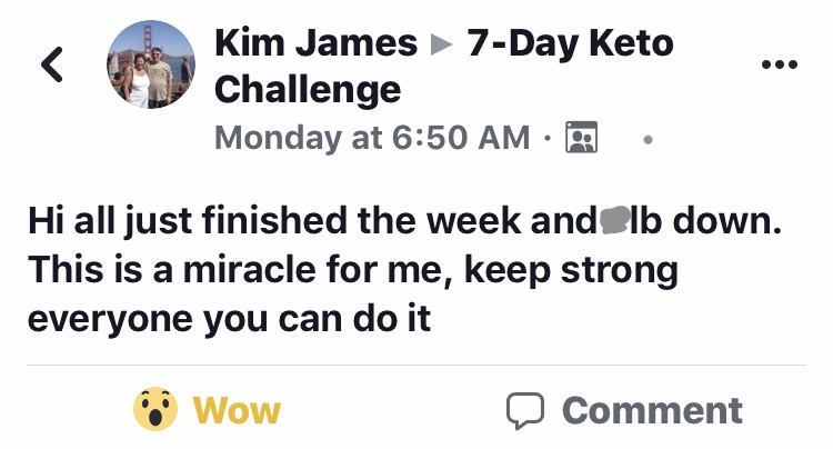 Join the 7 Day Keto Challenge Here!
