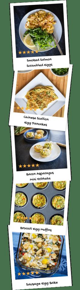 Breakfast Egg Collage Mobile-min