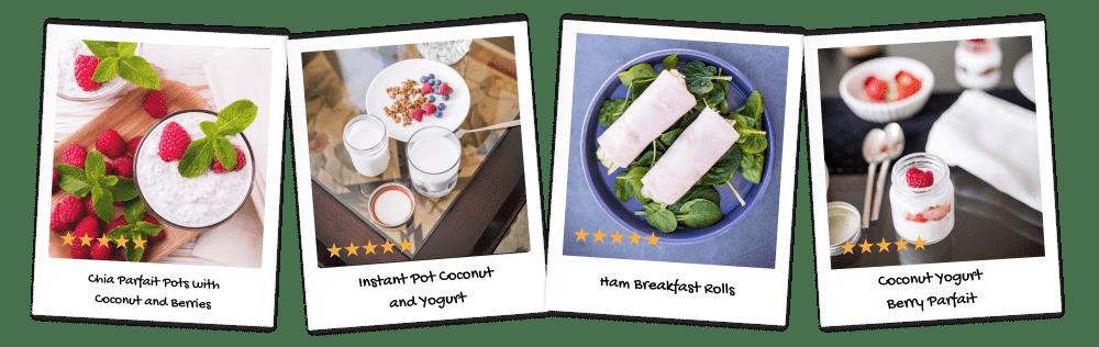 Yogurts and Rolls collage-min